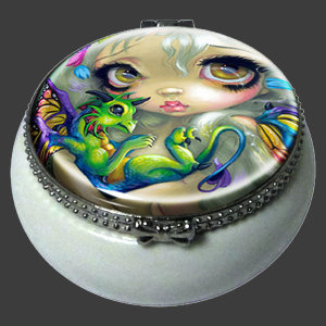 Darling Dragonling IV Trinket Box