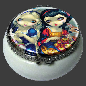 Alice & Snow White Trinket Box