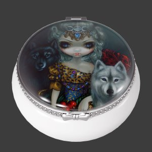 Loup Garou Trinket Box